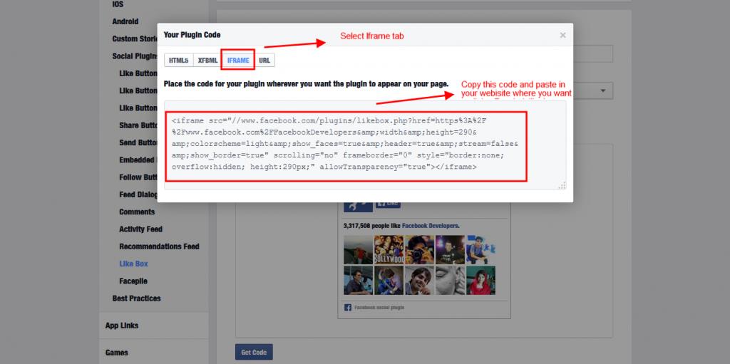 facebook-code